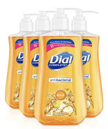 4 Pack Dial Antibacteral Liquid Hand Soap Gold 4 x 11oz FREE SHIPPING! - $23.36