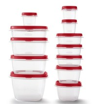 Rubbermaid Food Storage Containers 24 pcs Set Easy Find Vented Lids BPA Free - $22.00