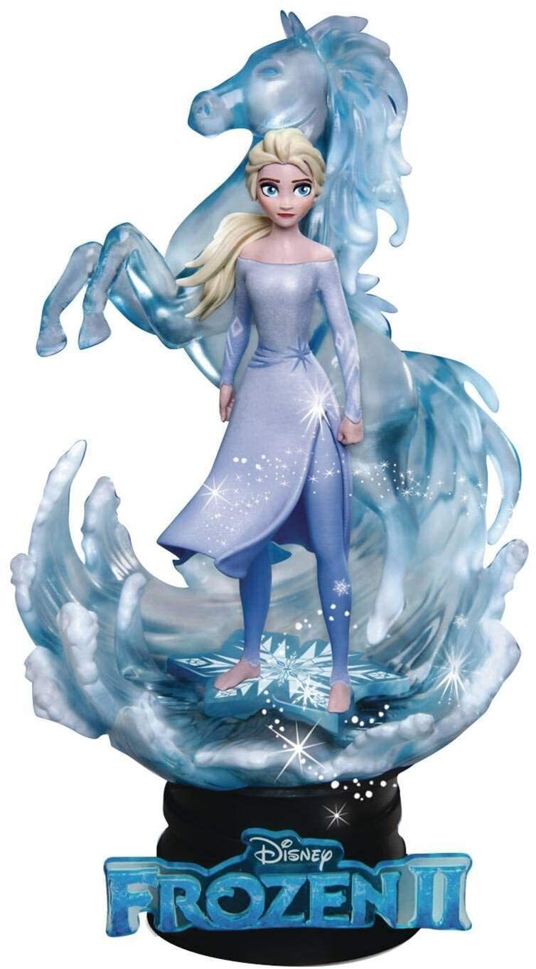 Image 0 of Frozen II: Elsa DS-038 D-Stage Series Mini Statue, Beast Kingdom