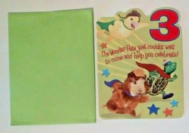 American Greetings Kid Squad Wonder Pets For A 3 Year Old Birthday Card - $2.94