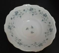 "Johann Haviland Traditions Blue Garland 8 1/2"" Serving Bowl MINT - 3 available - $11.65"