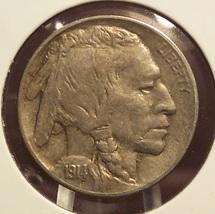 1914 Buffalo Nickel AU #0409 - $38.99