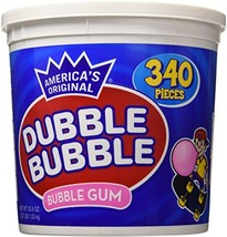 Dubble Bubble Gum, 53.9 Ounce - 340 Count Bucket - $15.67