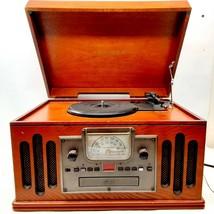 Crosley Musician Turntable Model CR704C Record Player, CD, Cassette Tape, Radio - $149.99