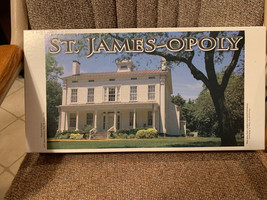 St James-Opoly Family Board Game Deepwells Farms 1845 St James NY Very R... - $79.99