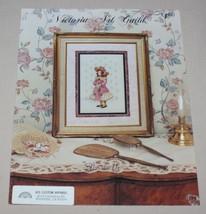 Elizabeth Victorian Girl Cross Stitch Pattern Leaflet 102 Victoria Art G... - $12.82