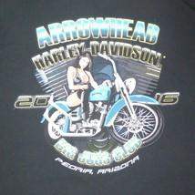 LARGE Big Jugs Club 2016 Harley Davidson Peoria AZ Arrowhead T Shirt - $14.81