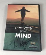 Motivate Your Mind Tom Hopkins DVD RARE COMPLETE CIB Very Clean Disc Signed - $15.55