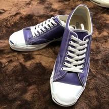 Converse Auténtico Jack Purcell Vintage Zapatillas Violeta Color Eu 8.5 ... - $320.98