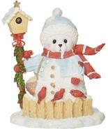"Roman Cherished Teddies, Snowbear Figure, 4.5"" H - $14.84"