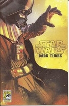 SDCC 2013 Dark Horse Exclusive Star Wars Dark Times  A Spark Remains #1 - $13.95