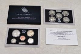 2 2017-S US Mint 225TH Anniversary Uncirculated ENHANCED 10 Coin Set In Mint Box image 5