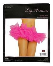 NEW LEG AVENUE WOMEN'S SEXY TUTU BALLET DANCE SKIRT A1705 ONE SIZE HOT PINK image 1