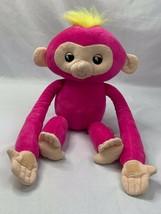 WowWee Fingerlings Hugs Bella Pink Baby Monkey Advanced Interactive Plush - $14.52