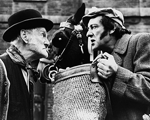 Wilfrid Brambell And Harry H. Corbett In Steptoe And Son 16X20 Canvas Giclee