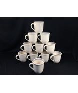 """(11) Pfaltzgraff Aura Pink Blue Coffee Mugs 3-7/8"""" - $79.99"""