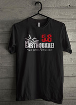 East Coast Earthquake 5 Men's T-Shirt - Custom (943) - $19.12+