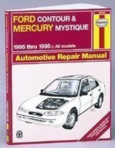 Ford Contour and Mercury Mystique Automotive Repair Manual: All Ford Con... - $8.97