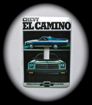 Chevy EL Camino Metal Switch Plate Cars - $9.50