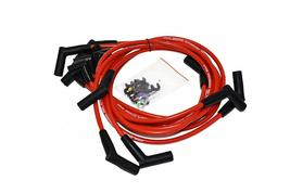 SBF Ford 289 302 5.0L HEI Distributor 65K Coil 8mm Red Silicone Spark Plug Wires image 4