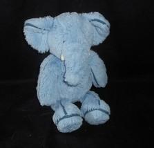 "12 "" JELLYCAT Bébé Bleu Éléphant Bleu Foncé Bandes Doux Animal en Peluche Jouet - $23.70"