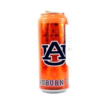 NCAA Auburn Tigers 16 Oz Insulated Can Travel Tumbler Cool Gear Mug SEC - $11.83
