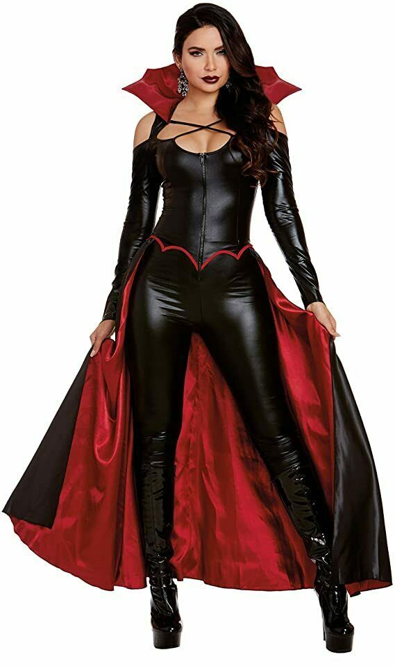 Dreamgirl Prinzessin Of Darkness Vampir Sexy Adult Damen Halloween Kostüm 11940 - $53.90