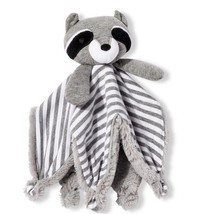 NWT Cloud Island Raccoon Security Blanket Target Lovey Soft Gray Plush Star - $35.26 CAD
