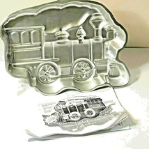 Wilton Little Locomotive Train Cake Pan Mold 502-3649 Steam Engine VINTA... - $10.88