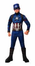 Rubies Marvel Avengers Endgame Captain America Deluxe Halloween Costume ... - $44.95