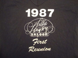 Vintage Lillie Langtry Saloon 80's 1987 T Shirt L - $19.79