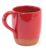 Set /6  Red Cherry Terracota Mug,3.5'' x 4''H - $69.30