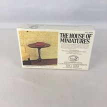 New Dollhouse Furniture Kit The House of Miniatures 1 Flip Top Table T40008 - $6.92