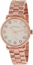 Marc Jacobs Womens Baker Dexter Stainless-Steel Quartz Watch (Rose Gold) - $99.90