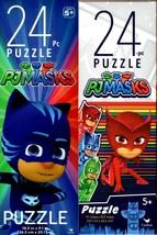 PJ Masks - 24 Pieces Jigsaw Puzzle (Set of 2) - $14.84