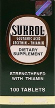 Sukrol Regular Dietary Supplement 100 Tabs - Suplemento Multivitaminico (Pack of - $14.69