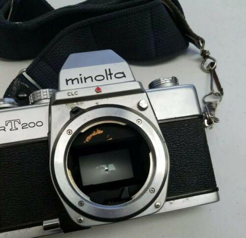 Minolta SRT 200 Chrome 35mm Camera Body Only