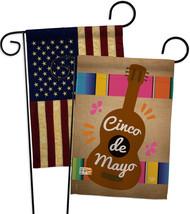Celebrate Guitarron Cinco De Mayo - Impressions Decorative USA Vintage - Appliqu - $30.97
