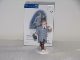 "Department 56 Snow Village ""MAKING A HOUSE CALL-NEW IN BOX - $15.35"