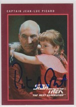 Patrick Stewart Signed Autographed 1991 Star Trek Trading Card - $19.99