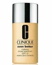 Clinique Even Better Broad Spectrum SPF15 Foundation Makeup WN 48 Oat - $23.36