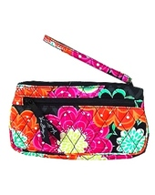 NWT VERA BRADLEY ZIGGY ZAGS FRONT ZIP WRISTLET FITS IPHONE 6, 6+ OR SAMSUNG - ₨1,625.76 INR