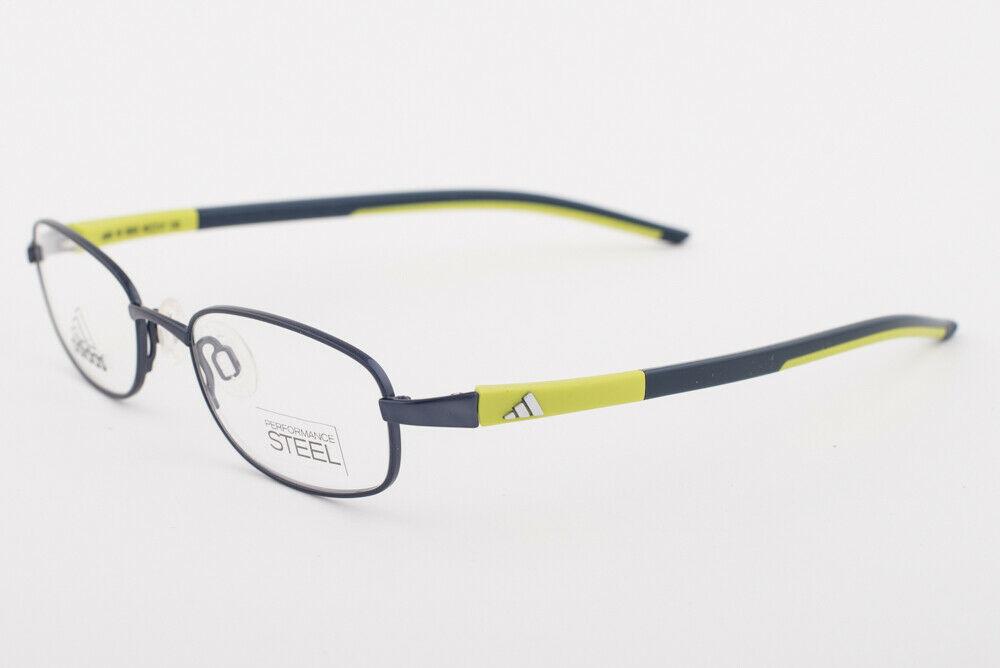Adidas AD988 40 6053 LiteFit Petrol Lime Blue Eyeglasses AD988 406053 45mm
