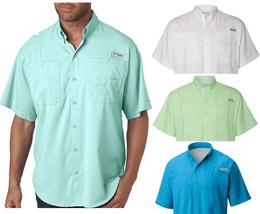 New Columbia Men Pfg Tamiami Ii Short Sleeve Shirts, S-M-L-XL - $29.90