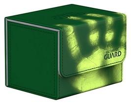 Ultimate Guard Deck Box: Sidewinder 100+ ChromiaSkin Green - $21.57