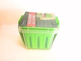 Reusable Fruit & Veggie Storage Container (Green) - $4.94