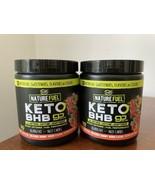 2x Nature Fuel KETO BHB Ketogenic Ketone GUMMY WORM Powder Burn Fat 30 S... - $59.39