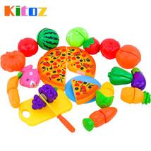 SA set  Kitoz Mini Kitchen Miniature Food Pretend Play Cooking Toy Set F... - $23.98