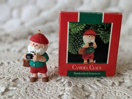 Hallmark Keepsake Camera Claus Christmas Ornament 1989 - $7.75