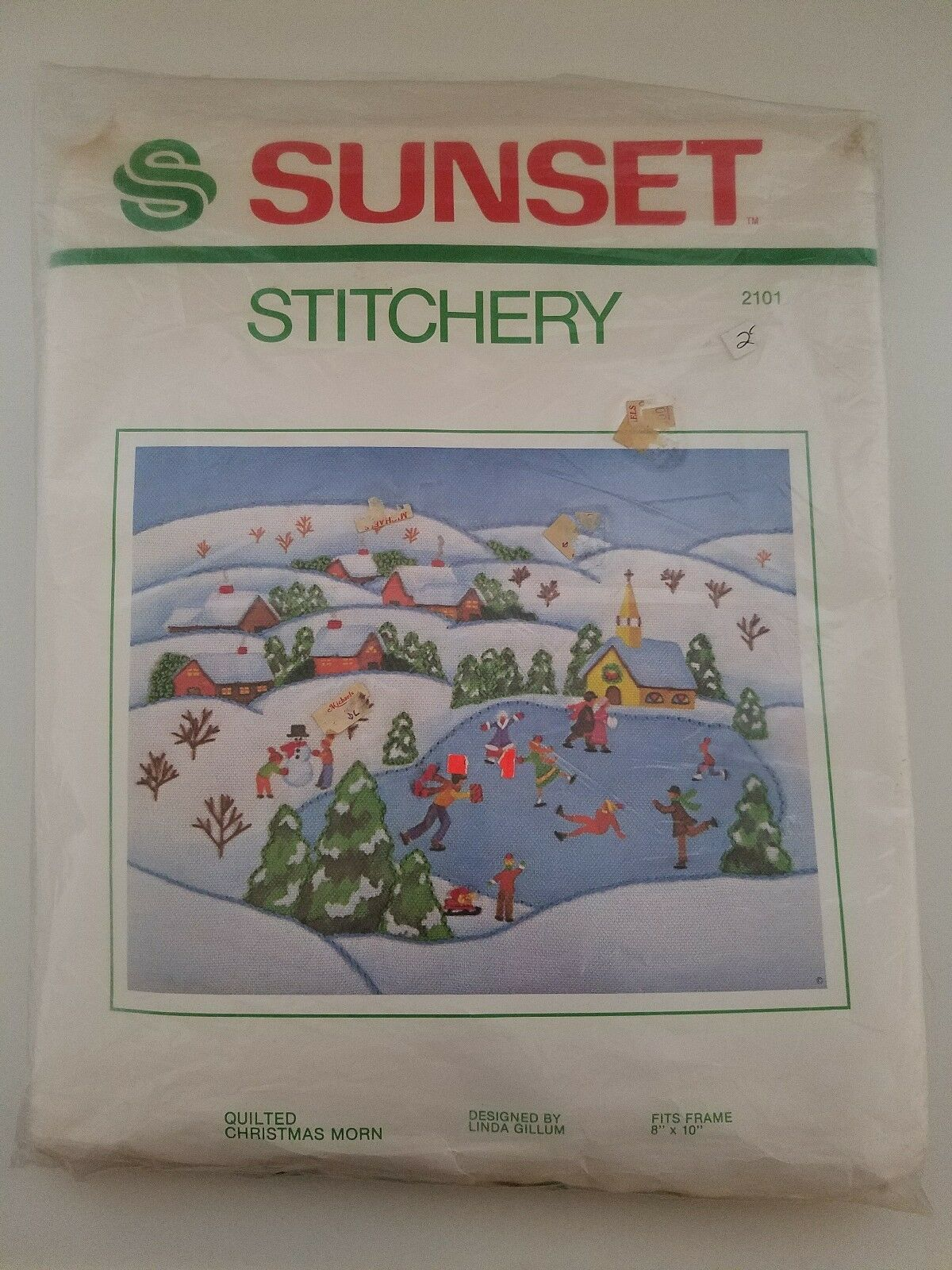 Primary image for Sunset Stitchery Quilted 1971 Christmas Morn Linda Gillum Kit No 2101